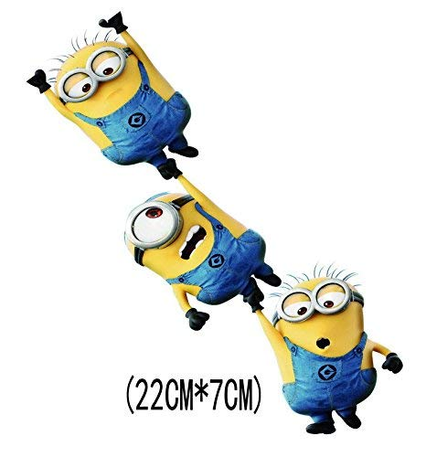 ADB Inc Despicable Me Minions 3D Cartoon Waterproof Stickers for Car (Minions -