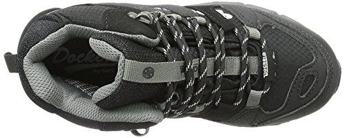 Dockers by Gerli 37rc703-637120 - Zapatillas de senderismo Unisex Niños Negro