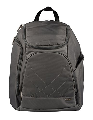 Travelon Anti Theft Classic Backpack, Pewter by Travelon