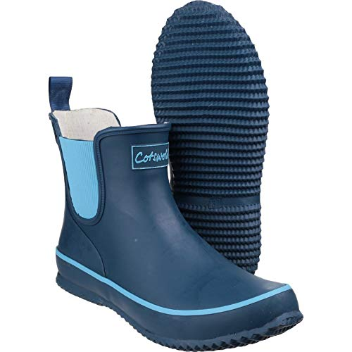 Ladies Bushy Boots Size Short 3 8 Ladies Waterproof Shaft Wellington navy Cotswold dq6w0Ixgq