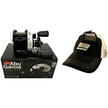 Bundle - Abu Garcia RV03S-L Revo SL 6.4:1 Left Handed Baitcasting Fishing Reel with Hat