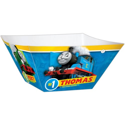 amscan Thomas All Aboard Paper Bowls, Party Favor]()
