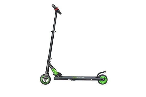 earlyad Mini Scooter Electrico Plegable con Asiento Potente ...