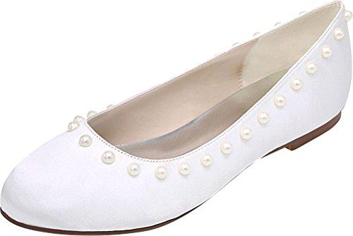 Blanc Blanc Compensées Nice Sandales 5 Femme Find 36 wBzAzf