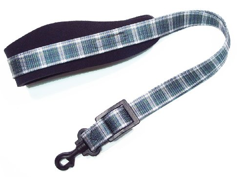 legacystraps-dsx-neoprene-padded-tartan-plaid-saxophone-strap-green-and-white-maclean-tartan