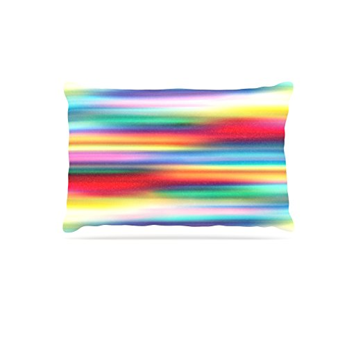 Kess InHouse Danny Ivan Painting Life  Abstract Fleece Dog Bed, 50 by 60 , Multicolor