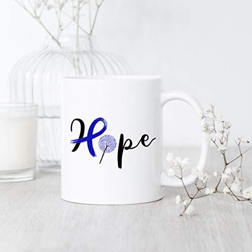 (Mug Creatory  Colon Cancer Hope, Mug, Colon Cancer Mug, Colon Cancer Gift, Colon Cancer Awareness, Colon Cancer Support Gift, Colon Cancer Survivor  Coffee Mug 11oz)