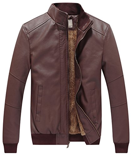 Cheap Leather Motorcycle Jackets For Men - 6