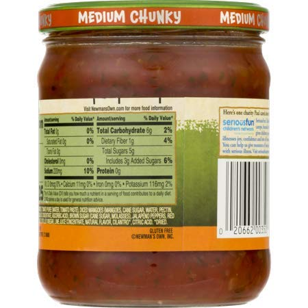 Newman's Own: Mango Medium Salsa, 16 oz - 5 Pack by Newman's Own: (Image #6)