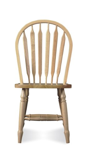 (International Concepts C-213T Windsor Arrow Back Chair,)