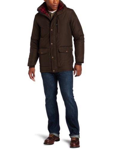 Woolrich Men's Langhorn Jacket, Dark Wood Heather, X-Large