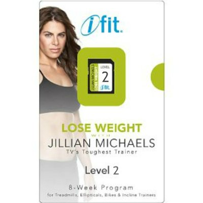iFit Jillian Michaels Lose Weight SD Card - Level 2 (Proform Elliptical Et)