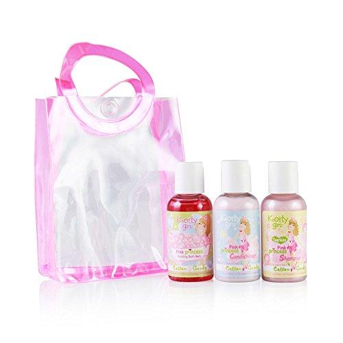 Knotty girL Pink Princess Cotton Candy 3 Piece Kit (Cotton Candy Princess)