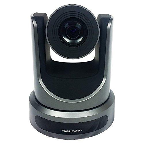 PTZOptics-20X-SDI GEN-2 PTZ IP Streaming Camera with Simultaneous HDMI and 3G-SDI Outputs - Gray