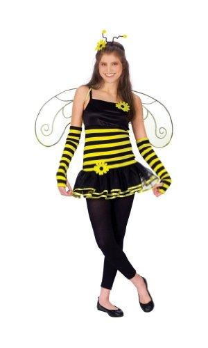 [FunWorld Child Honey Bee Costume] (Sweet Bee Girls Costumes)