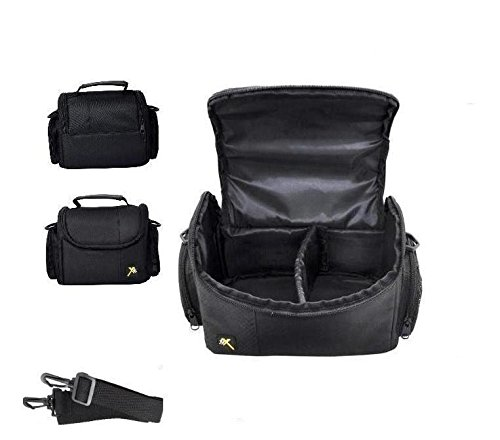 Video Camera Carrying Case Bag For Panasonic HC-WX970 HC-X900 HC-X920 HC-VX870 HC-V770 HC-V750 HC-V720 HC-700 HC-W580 HC-W570 HC-V520 HC-V380 HC-V270 HC-V210 HC-V180 HC-V160 HC-V110 (Panasonic V720 compare prices)
