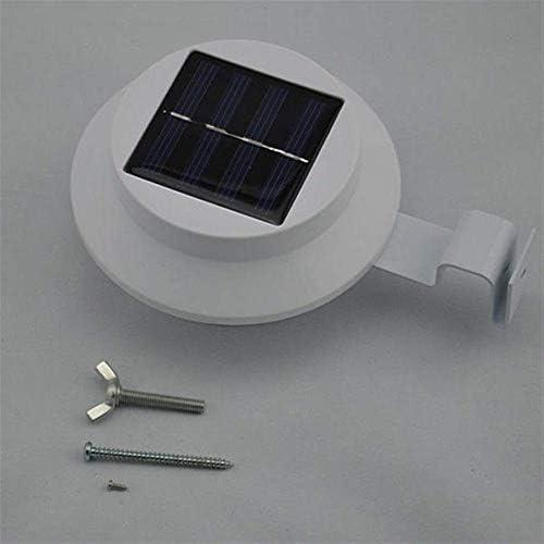 Solarbetriebene LED-Zaunleuchte für den Außenbereich