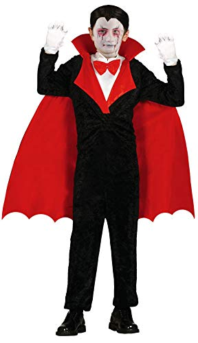 Foxxeo Traje de Vampiro para niños Conde Drácula Chicos Capa ...