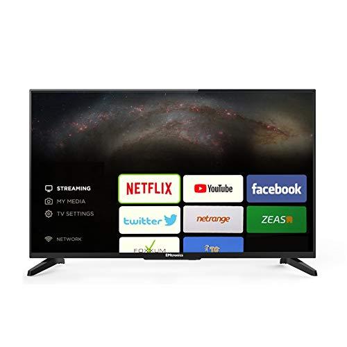 EMtronics 32″ Inch HD Smart TV with Wi-Fi, Freeview T2, 3x HDMI, 2x USB PVR