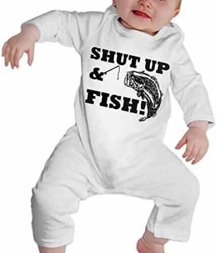 KAYERDELLE Superlucky Hemp Leaf Long-Sleeve Unisex Baby Playsuit for 6-24 Months Infant