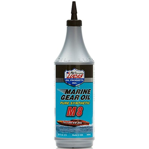 Lucas Oil 10652 Marine Gear Oil - 32 oz. (Performance Synthetic Gear Lube)