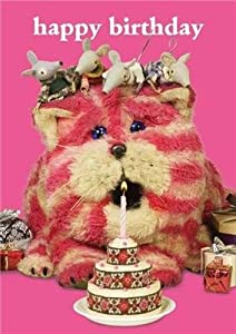 Bagpuss Happy Birthday Cake Greeting Card Amazoncouk Kitchen
