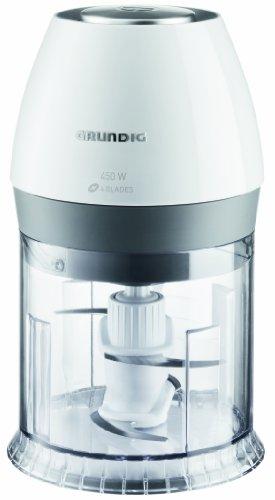 Grundig CH 6280 w Kompakt Multi-Zerkleinerer (450 Watt), weiß