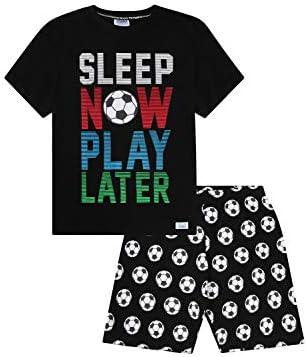 Pijama corto de algodón de Sleep Now Play Later