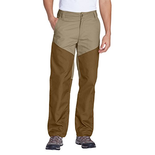 Upland Brush Pants - Eddie Bauer Men's Yakima Breaks Upland Pants, Tan Regular 38/30
