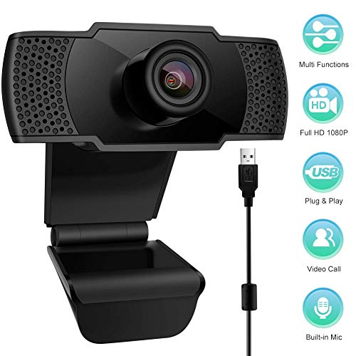 🥇 swonuk 1080P Webcam Micrófono