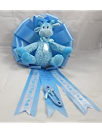 24 Inch New Baby Announcement Ribbon/It's a Boy Giraffe/1680 BOBEBE Online Baby Store From New York to Miami and Los Angeles