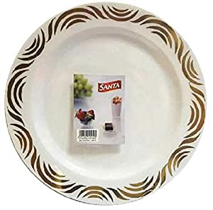 SANTA Ceramic,White - Plates & Dishes
