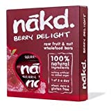 Nakd Berry Delight Raw Fruit & Nut Wholefood Bars 4 x 35g For Sale