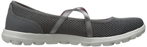 Skechers On-The-Go Point - Zapatillas De Deporte Mujer Gris (Ccbk)