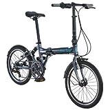 "Durban Jump, Folding bike w/7 Speed, 20"" Wheels - Dark Grey"