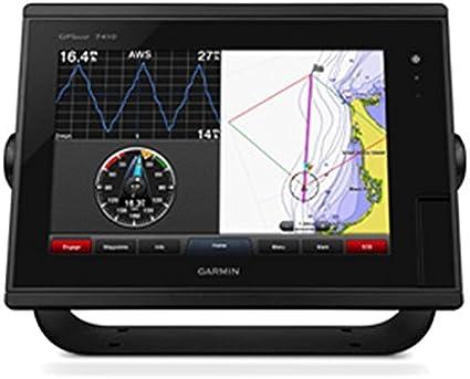 Garmin GPSMAP 7410 J1939 netzwerkfähiger Kartenplotter mit 7-Zoll-Display J1939-Mapas de Red con Pantalla de 7 Pulgadas, Unisex Adulto, Negro, Talla única: Amazon.es: Deportes y aire libre