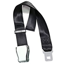 NUOLUX Seat Belt Extender Adjustable for Most Major Airplane Type A 55-100cm