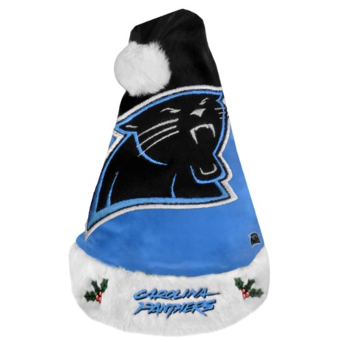 Santa Hat Panthers (Carolina Panthers 2011 Colorblock Santa Hat)