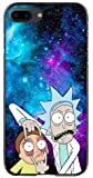 High Performance Displayed Galaxy Rick&Morty iPhone Cases (iPhone 8 Plus)