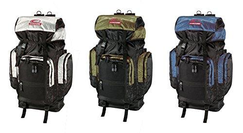 Trekkingrucksack Trekking Tasche Wanderrucksack khaki/schwarz #276