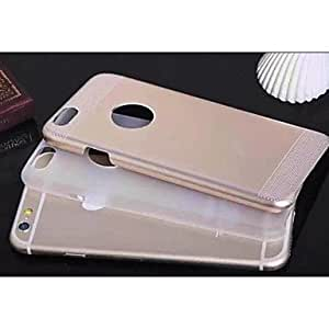 QYF Special Design Metal PC Polycarbonate Back Case for iPhone 6 (Assorted color) , Rose