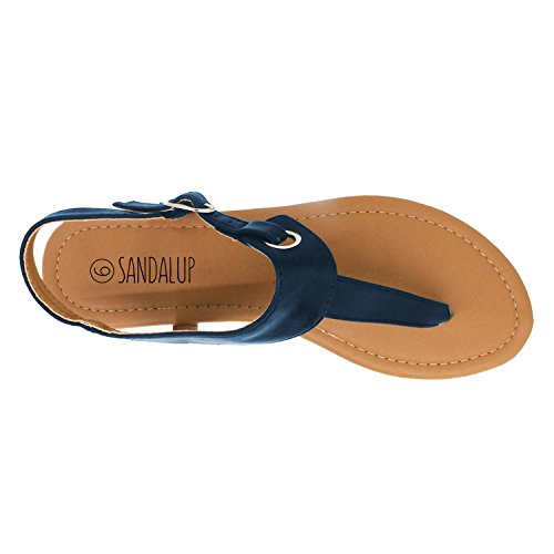 SANDALUP - Sandalia Claire para mujer Azul