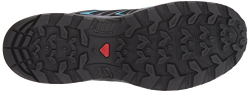 Salomon Women's X Ultra 3 GTX Trail Running Shoe, Medieval Blue/Black/Hawaiian surf, 5 B US by Salomon (Image #3)