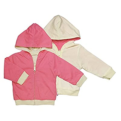 Babysoy Baby Boys' Year Round Reversible Hoodie