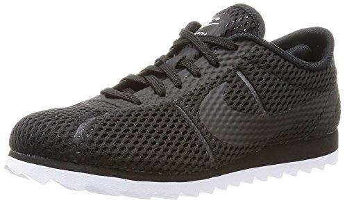 para Br Nike Mujer Negro Black Grey Cortez Deporte de Zapatillas Cool Ultra White W tRRrAq0