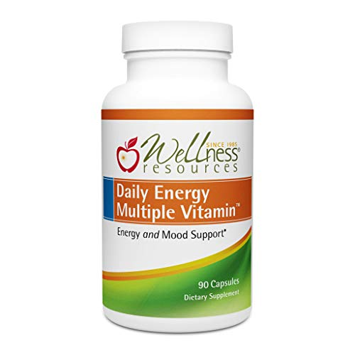- Daily Energy Multiple Vitamin - Highest Quality Multivitamin for Energy, Stress, Mood with Coenzyme B Vitamins and MethylFolate (90 Capsules)