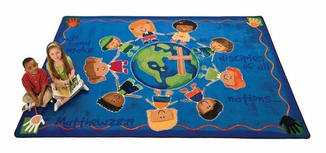Great Commission KID$ Value PLUS Rug - 8' x 12' by Carpets for Kids