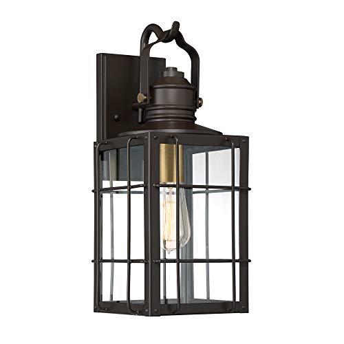 Quoizel WTO8408WT West Oak Outdoor Lantern Medium Western Bronze