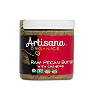 Artisana Organics Raw Pecan Butter with Cashews, Plastic, 9 oz