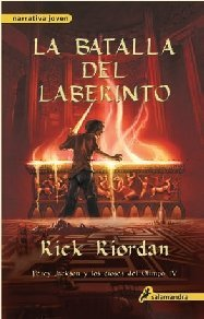 Download By Rick Riordan Batalla del Laberinto = The Battle of the Labyrinth (Percy Jackson & the Olympians) (Spanish Edition (5 Tra) [Paperback] pdf